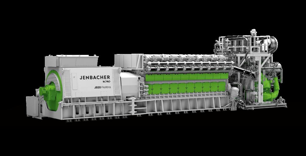 Kogenerační jednotka Jenbacher typ J920 FleXtra