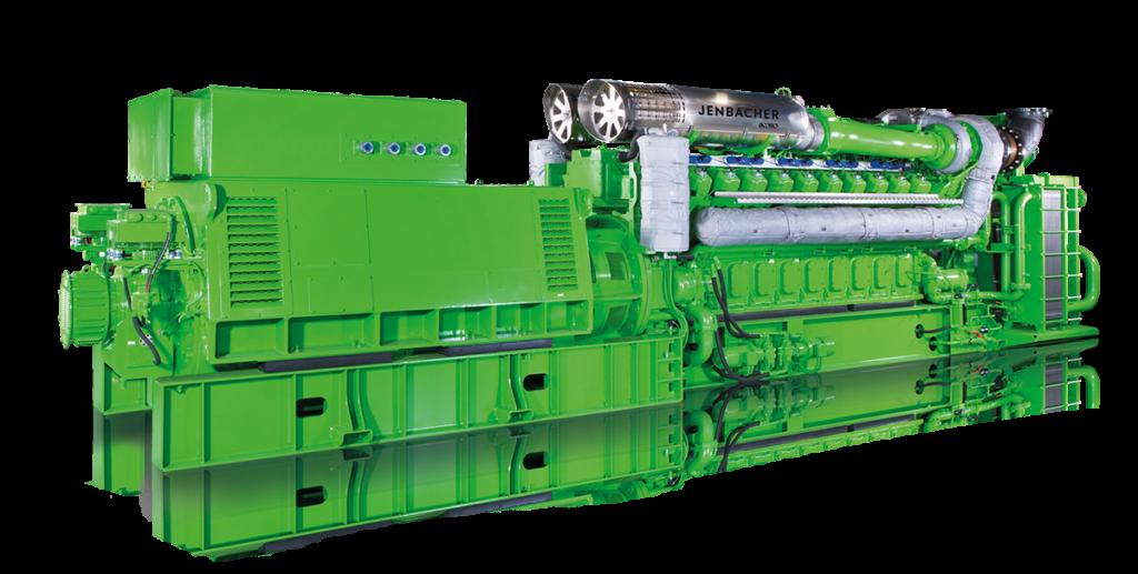 Technické specifikace kogenerační jednotky Jenbacher typ 6