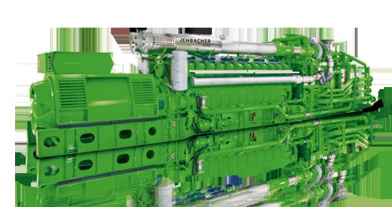 Kogenerační jednotka Jenbacher typ J624